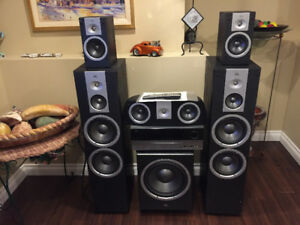 JBL home theater speaker system