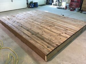 DECK SECTIONS FOR CAMPING TRAILERS $475.00 (8X10)