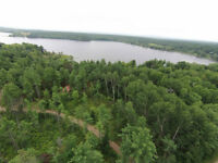 TREED LOT Viewing Large Bay on BONNECHERE RIVER