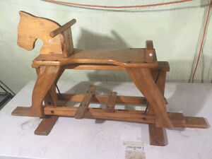 Vintage antique rocking horse Belleville Belleville Area image 1