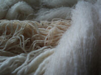 undyed, natural, organic yarns and spinning fibres