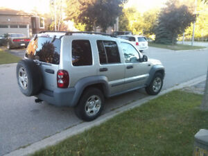2005 Jeep Liberty 3.7L SUV (Excellent vehicle for winter!)