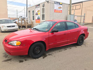 2005 PONTIAC GRAND AM ONLY 167000 KM GREAT RUNNING AND INSPECTED