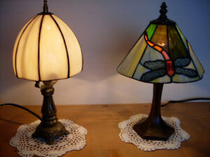 TIFFANY DRAGONFLY and DOME DESK LAMPS, Vintage, A - 1!