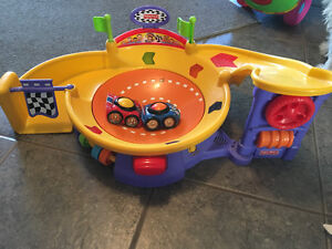 Fisher Price Spinning Racetrack