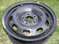 15 inch 5 x 100 nearly new rims