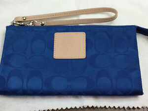 COACH Wristlet/Full size Wallet with matching Cosmetic case