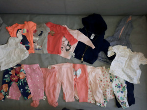 Baby girl clothing lot. 3 months
