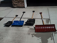Snow shovels - May as well get them early