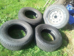 Set of 4 Truck Tires - Michelin & Goodyear