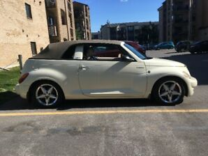Chrysler PT Cruiser, 2005 Cabriolet, manual turbo