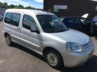 5607 Citroen Berlingo 1.4i Multispace Forte Silver 5 Door 76761mls MOT 12m