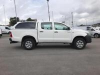 Toyota Hilux Hl2 D/Cab Pick Up 2.5 D-4D 4Wd 144 DIESEL MANUAL WHITE (2014)