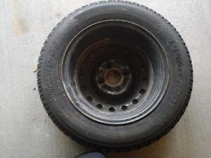 used Hankook winter tires for Nissan Versa London Ontario image 2