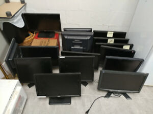 Assorted 15-17 inch LCD Monitors