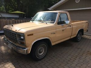 1981 Ford F100 Short Box from South Carolina
