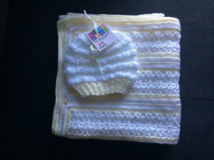 Handmade Baby Blankets and Touques.
