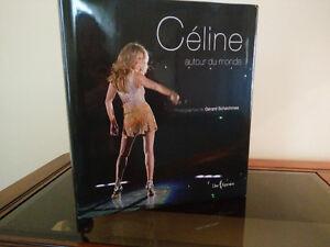 Livre Céline Dion ''autour du monde''