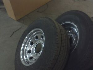 8 bolt chrome rims fit gmc and others