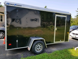 6x12 Enclosed Cargo Trailer 2017