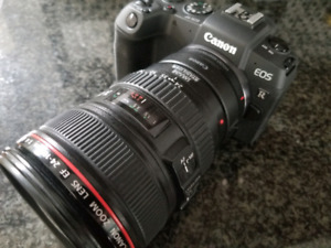 Canon EOS RP mirrorless with 24-105mm IS L