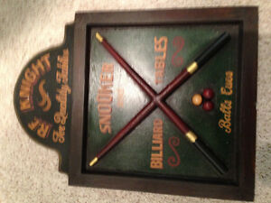 Billards sign