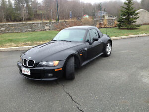 1998 BMW Roadster covertible including Hardtop