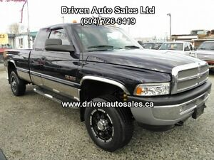 1998 Dodge Ram 2500 Diesel Laramie 12 Valve Quad Cab long box