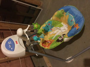 Infant swing- like new!