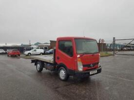 2009 09 PLATE NISSAN CABSTAR 34.11 SWB FLAT BED PICK UP