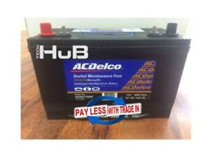 LARGE DEEP CYCLE / MARINE Battery AC Delco HCM27SMF or HCM27LSMF