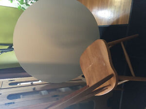 Oak wood chair