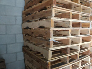 Wood Pallets for $1 each