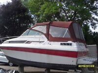 "26 ft cruiser with 9-6"" beam"