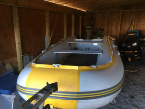 12.6 ft SeaBright inflatable boat