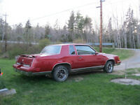 1987 Oldsmobile Cutlass Supreme Coupe (2 door)