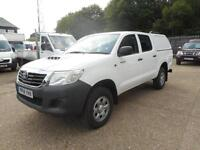 2014 TOYOTA HI-LUX ACTIVE 4X4 D-4D DOUBLE CAB AIR CONDITIONING ONLY 6500 MILES P