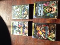 Old game cube games forsale