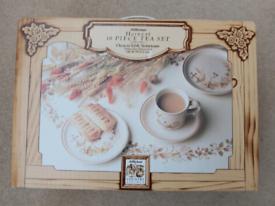 M&S 18 piece tea set. Harvest design.