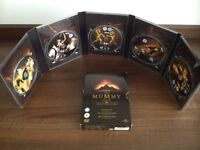 The Mummy Legends DVD box set