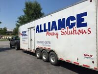 MOVERS...Alliance moving services.....MOVERS