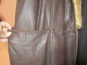 Genuine Leather and Fur Jacket Peterborough Peterborough Area image 8
