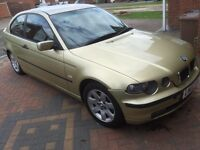 BMW 316ti se compact, 2002, manual, 126k, mot Jan 2017,