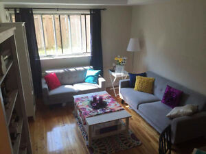 Bright & Cozy, Furnished 3 1/2 for rent (Sept. to Dec.)
