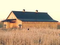 Outdoor Ceremony & Barn Reception