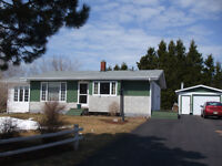 3 bedroom bungalow with view of Northumberland Strait