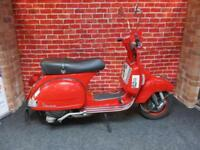 PIAGGIO VESPA PX125 SCOOTER 125cc TWO STROKE MANUAL