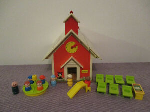 École  Vintage  Fisher Price  De  Little  People 1971
