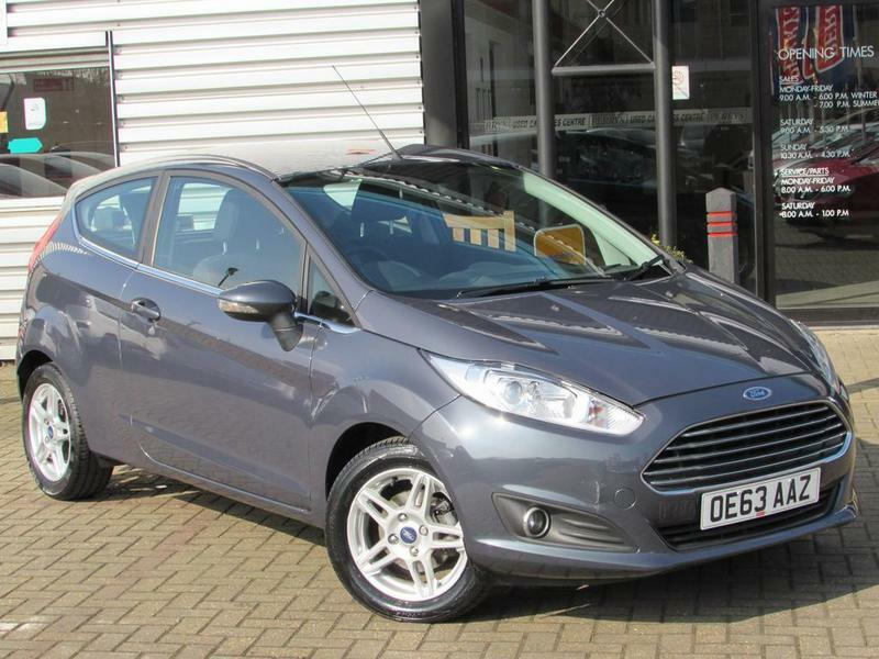 Ford Fiesta   Ecoboost Zetec  Door Free Tax Grey