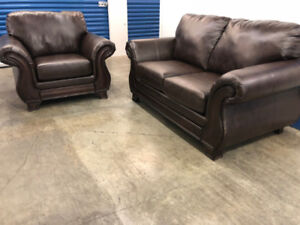 Love Seat & Chair -  Delivery